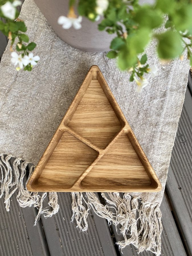 Koka šķīvis 24x26,5x26,5cm